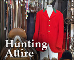 Hunting Attire, Hunt Clothing and Bespoke Hunting Coats