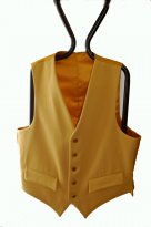 Picture of Gents Yellow Doeskin Hunting Waistcoat
